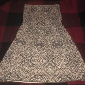 Casual Aztec tube dress
